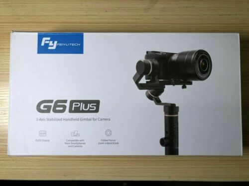 Used Feiyu G6 Plus 3-Axis Handheld Wifi Gimbal Stabilizer for GoPro Camera