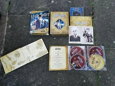 Harry Potter and the Half-Blood Princes part 6. Year 6 ultimate edition (DVD)