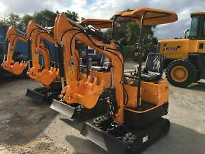 FINANCE AVAILABLE!UHI 950kg MINI EXCAVATOR FOR ONLY $11490 Ingleside Warringah Area Preview