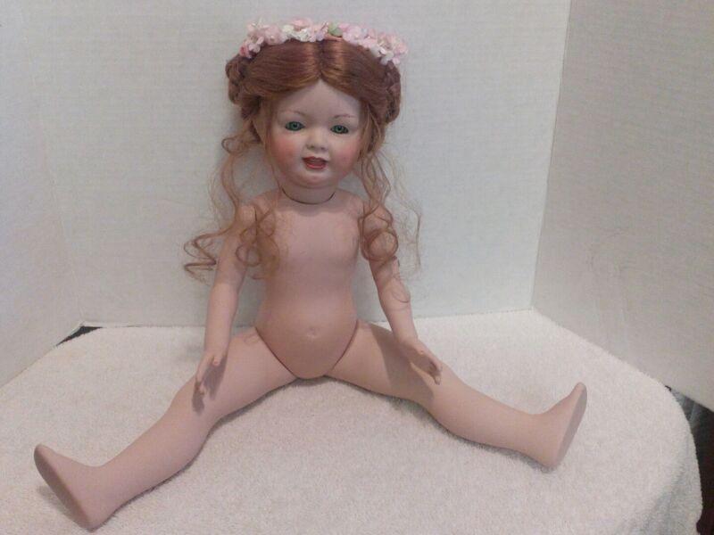KRH Doll Germany, Full Porcelian