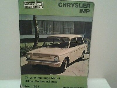 Intereurope repair manual  chrysler imp