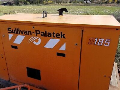 Sullivan Palatek 185 Air Compressor Skid Mount