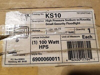 J-Cooper Lighting KS10 High Pressure Sodium w/ Knuckle Small Security Floodlight