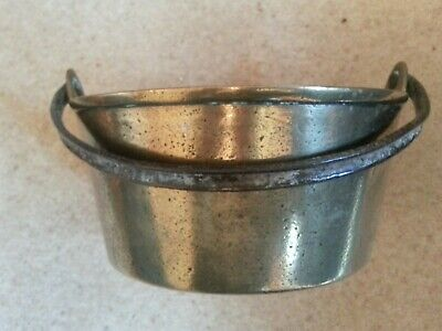 Antique Brass Pot with Handle