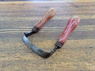 ANTIQUE Tools Drawknife Vintage Tools Woodworking Spokeshave Knife BOKER ☆USA