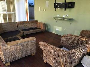 5 Piece Cane Lounge in Fantastic Condition Jindalee Brisbane South West Preview