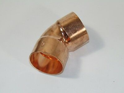 1-12 Copper 45 Elbow C X C - Copper Pipe Fitting
