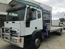 2001 IVECO EUROCAB 150E23 CRANE TRUCK 7M TRAY TOP Walkley Heights Salisbury Area Preview