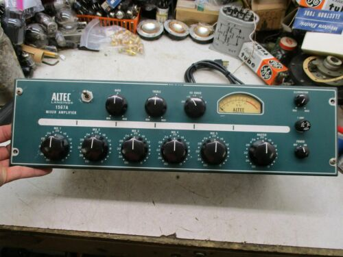 1 Altec urei  1567A tube mixer with All input and output