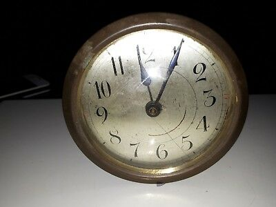 Vintage Estate Find 20th centuary's mental   Clock