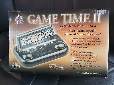 Excalibur GAME TIME II CHESS TiMER/CLOCK model (750gt-2)