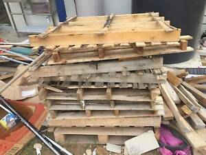 Free pallets to pick in oakleigh for firewood