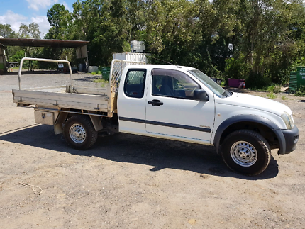 2004 Holden Rodeo space cab  (4 person)