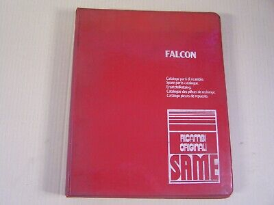 Same Falcon Tractor Dealer Parts Catalog Manual Book