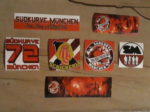 50 Bayern Aufkleber Südkurve Sticker Ultras