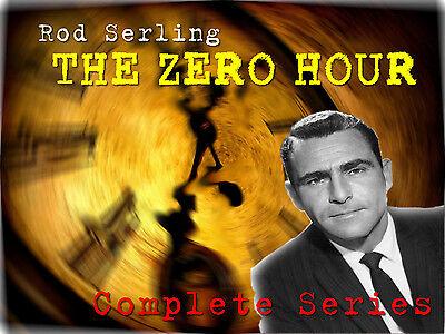 The Zero Hour - Rod Serling - OTR - Complete Series - 1 MP3 DVD