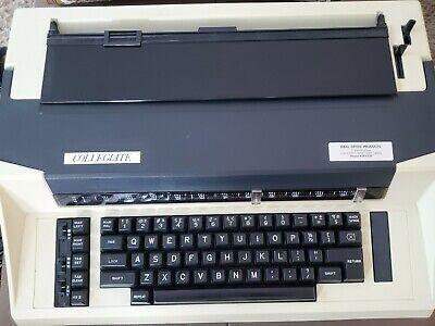 Vintage Swintec Collegiate Electric Typewriter Vgc. Working