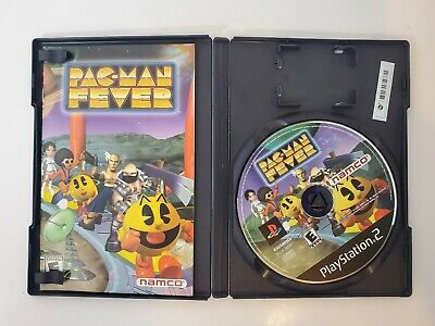 Pac-Man Fever (Sony PlayStation 2, 2002) PS2 - Complete with Manual