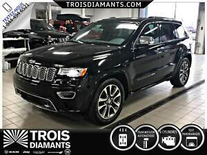 2018 JEEP GRAND CHEROKEE OVERLAND-CUIR - TOIT PANO- MAGS - NAVIG