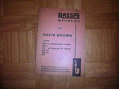 Zylinderkopfdichtung für David Brown 990 1210