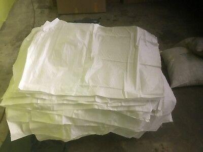 12 Large Flood Sandbag Woven Grain Sack Heavy Duty Shipping Packing Bag 29