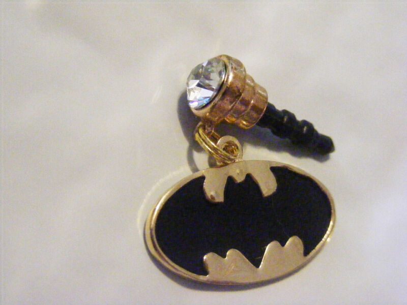Batman Gold Cell Phone Dust Plug