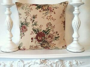 laura ashley Stowe Gold Fabric / Chic Cottage   Cushion Cover16