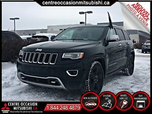 Jeep Grand Cherokee OVERLAND 2014 TOIT-PANO + CUIR + NAV + SUSP.