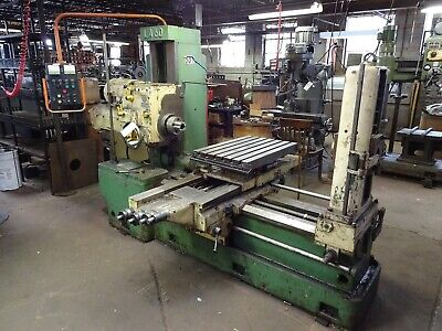 3 Stanimuc Horizontal Boring Mill Model La60 Built-in Rotary Table 21 X 31