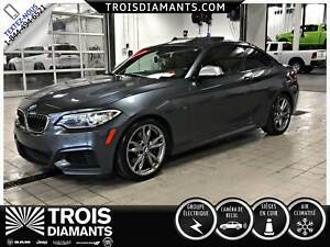 2015 BMW M235 M235i XDRIVE M PACKAGE CUIR BRUN TOIT OUVRANT NAVI