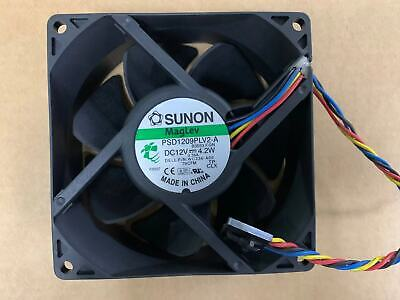 Original Sunon Psd1209plv2-a 12v Dell Wc236 7010 9010 Mt Chassis Cooling Fan 9cm
