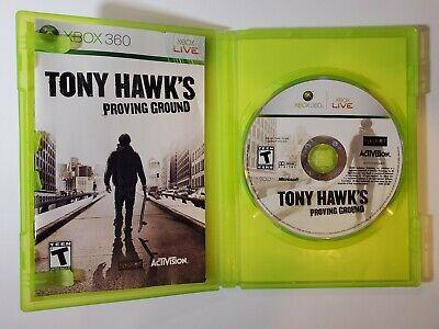 Tony Hawk's Proving Ground (Microsoft Xbox 360, 2007) Complete