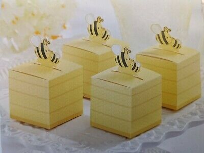 Kate Aspen Bee Favor Boxes New in package Set Of 24
