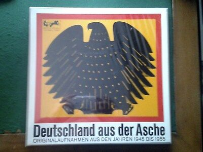 Originalaufnahmen 45-55: Dönitz, Adenauer, Erhard, Honecker usw. 2 LP Vinyl
