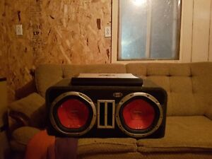 Subwoofer 1200watts chaque