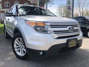 2013 Ford Explorer XLT|$94/Wk|4WD|7Pass|Htd Lthr|Sunroof|Backup CAM|S