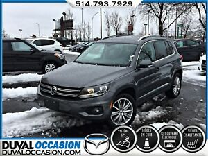 2016 Volkswagen Tiguan Highline AWD + TOIT OUVRANT + CUIR