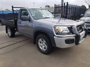 2009 Mazda BT-50 BOSS Single Cab Ute 4X4 TURBO DIESEL 4X4 Williamstown North Hobsons Bay Area Preview