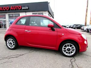 2012 Fiat 500 Coupe Sport Bluetooth Manual Certified 2YR Warrant