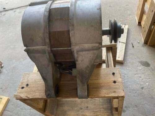 Used Wascomat W75 Motor 220V 3PH  New SKF Bearings