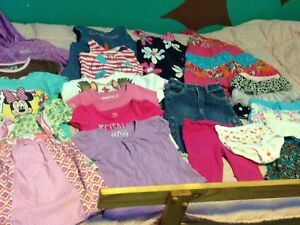 Size 2t sring/summer clothes and shoes
