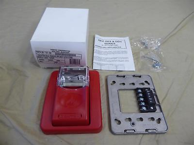 Gentex Ges24 Evacuation Visual Signalling Strobe Light 1575cd Fire Alarm - New