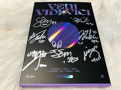 TRI-BE - ALL MEMBER Autograph(Signed) PROMO ALBUM KPOP #02