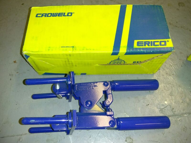 """Erico Cadweld L160 Welding Mold Handle Clamp E-Z change 3"""" 30782856303757 New"""