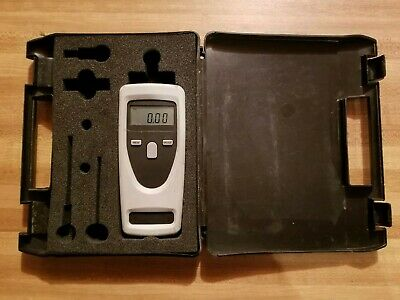Check-line Cdt-1000hd Handheld Digital Tachometer Made In Germany Wcase
