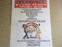 GARAGE SALE NOTHING OVER $10.00 Silkstone Ipswich City Preview
