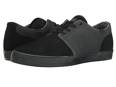 Circa Drf Bksh Drifter Mns  M  Black Shale Fabric Skate Shoes