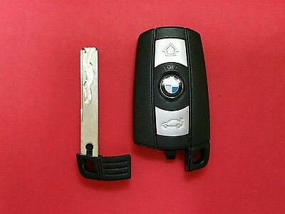 Used OEM BMW SMART Key Keyless Fob Remote KR55WK49127 - Read description