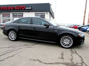 2014 Audi A4 2.0T Progressiv Quattro S-Line Manual NAVI CAMERA