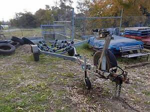For Sale Boat Trailer Multi Roller Galvanized Single Axle. Morley Bayswater Area Preview